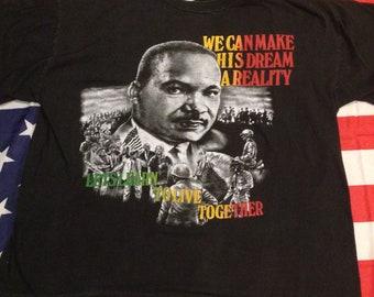 Vintage MLK tee