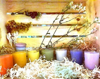 Reiki Blessed Chakra Candles