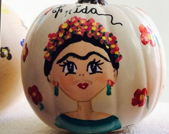 Pumpkin #Frida Kahlo