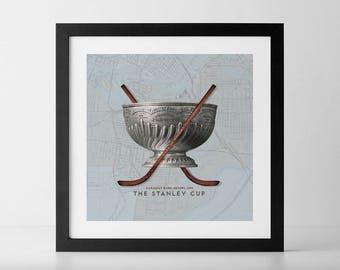 Vintage 1893 Stanley Cup