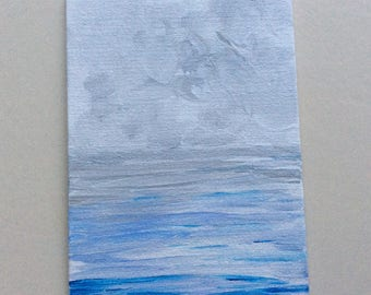 Grey seas- Original painting