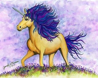 Children's Wall Art Unicorn, Unicorn Nursery Decor, Unicorn, Unicorn Gifts, Nursery Wall Decor, Art for my Home, Art for My Wall