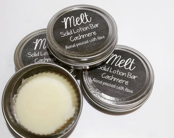 Solid Lotion Bars- Choice of Scent