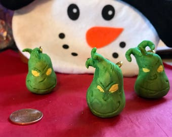 Fan Art Grinch Ornament Set