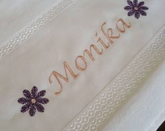 Customized Embroidery Towel 50x90 cm Special for you.