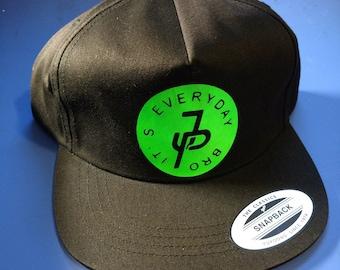 It's Every Day Bro Jake Paul  Black Baseball Cap for Men and Women Unisex hat Design Gift Ideas Youtuber Celebrity YouTube