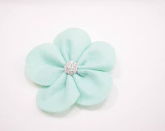 Felt flower hair clip / girls accessories / hair accessories / hair clip / flower clip /