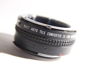 Vintage Kalt Automatic Teleconverter 2X (for Nikon AI SLR cameras)
