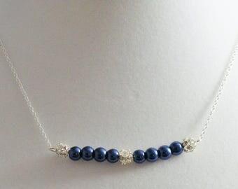 Blue Sparkle Necklace
