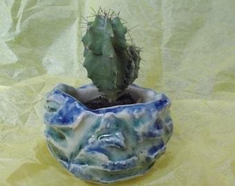 Emerald Green ceramic pot