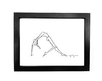 Yoga • Art Print   Fashion Illustration