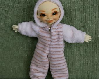 Cute jumpsuit for Pukipuki 1/12 (12 cm)