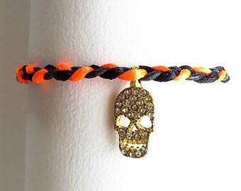 Halloween 17594 braided bracelet
