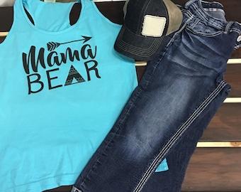 37 Live Sale-Medium teal Mama Bear
