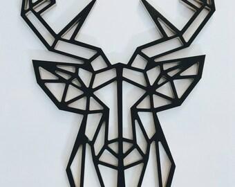 Deer's head//deer antler//Size XL