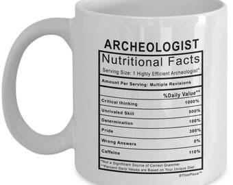 Archeologist coffee mug  Gift for  Archeologist funny coffee mugs
