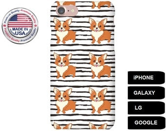 Corgi Phone Case, Phone Case Corgi, Corgi iPhone Case, Corgi Galaxy Case, Corgi Google Pixel, iPhone 5s Case, Galaxy S8 Case, Galaxy S6 Edge