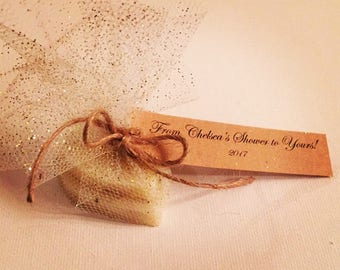 Handcrafted, All Natural, Shower Favors for-Wedding, Baby, Graduation, Birthday, Any Occassion!!