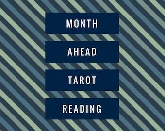 Month Ahead Tarot Reading