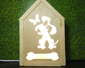 Best Nightlight, Kids nightlight, Night light , puppy night light, nursery night light