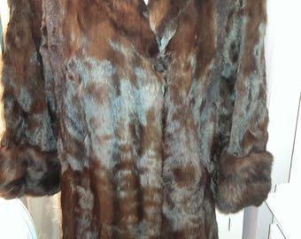 VICTOR SEGALL 1930s/40s Fur Coat.