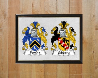 Double coat of arms, Coats of arms, Family crests