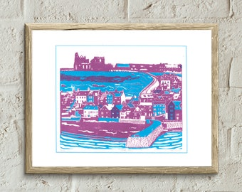 Whitby Screen Print