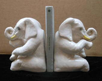 Elephants bookend, Elephans bookends