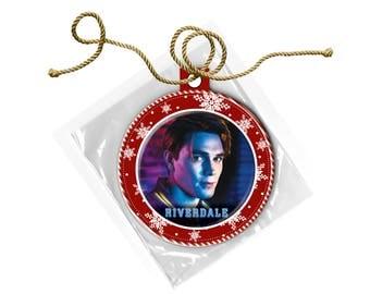 Riverdale Cast Archie Andrews KJ Apa  Christmas Ornament