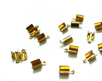 10 tips rope gold tone pinch 1.1 cm