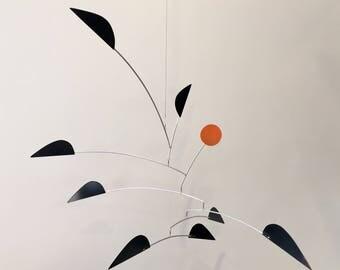 Hanging Mobile Art Sculpture - YARDBIRDS - Original Handmade Mid-Century Modern Mobile