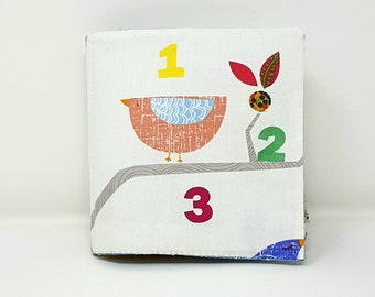 123 count with me, quiet book, sensory book, Montessori Toy, busy book,  educational toy, cloth book (from 18 months old)