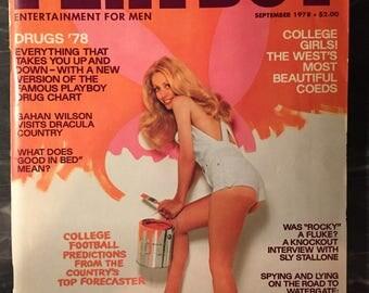 Playboy Magazine - September 1978