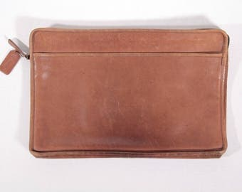 Vintage Coach leather portfolio laptop case