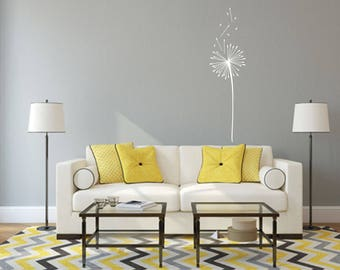 Dandelion Home and Family Vinyl Wall Decal