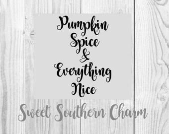 pumpkin spice svg - pumpkin spice files - svg file - svg files - fall svg file - files