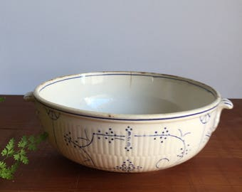Boch La Louviere Serving Dish in Blue & White