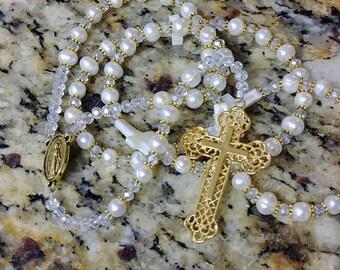 Pearl Rosary