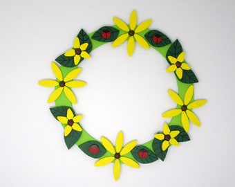 Black-eyed Susan Wreath