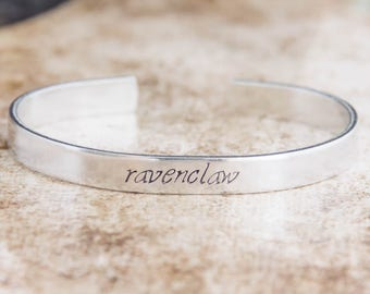 Ravenclaw / Harry Potter Jewelry / Harry Potter Gift / Literary Jewelry / Literary Gift / Hogwarts House Jewelry / Harry Potter Houses