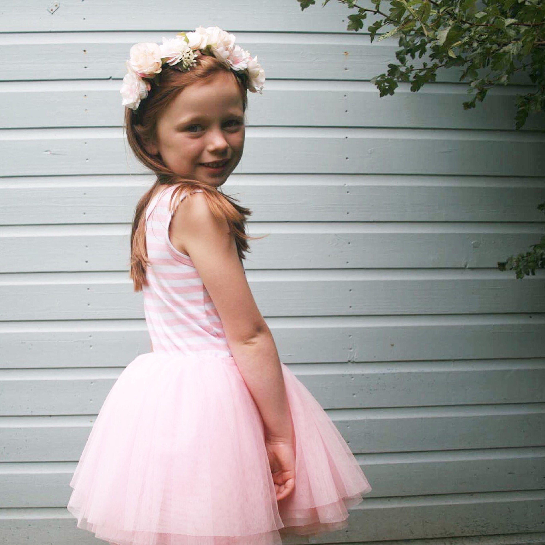 Second Birthday Tutu Dress Outfit Cake Smash 2nd Birthday Girl