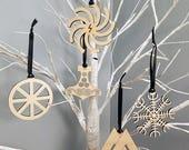 Heathen Yule Ornament Set