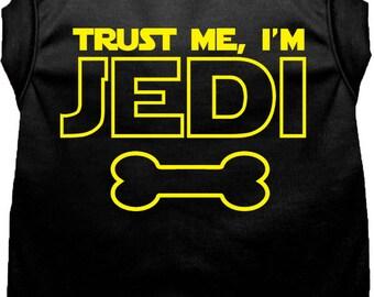 Trust Me I Am A JEDI Star Wars Dog Vest  Limited Time Only