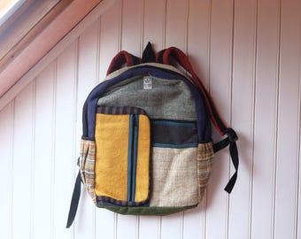 Bag has back hemp Nepal