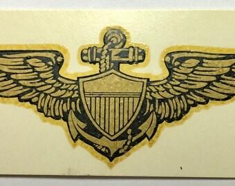 WWII/Korea USNavy Aviators Decal   DEC-0158