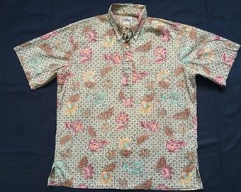 Vintage Reyn Spooner hawaiian shirt-large-surfer
