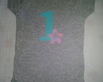 Cute birthday onesie/shirt for kids