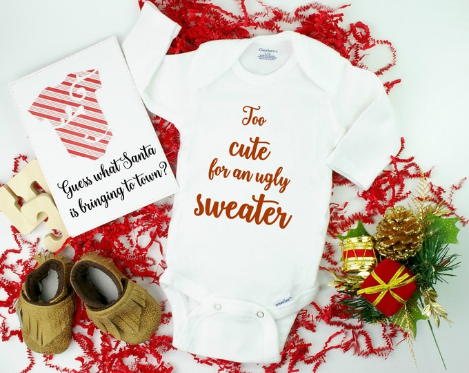 Ugly Sweater Pregnancy Announcement