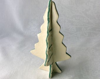 Ceramic Christmas tree.