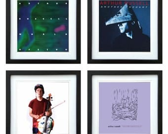 Arthur Russell - Framed Album Art - Set of 4 Images